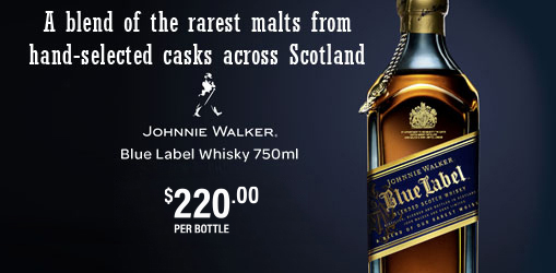 Johnnie Walker Blue Label Whisky 750ml